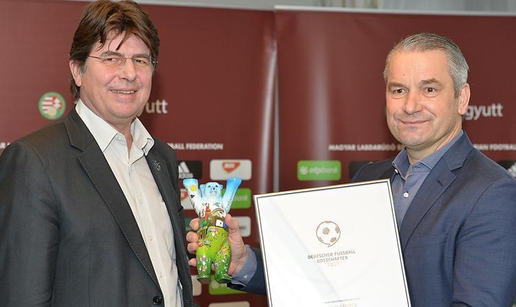 Ungarns Nationaltrainer als deutscher Fußball-Botschafter 2017 nominiert