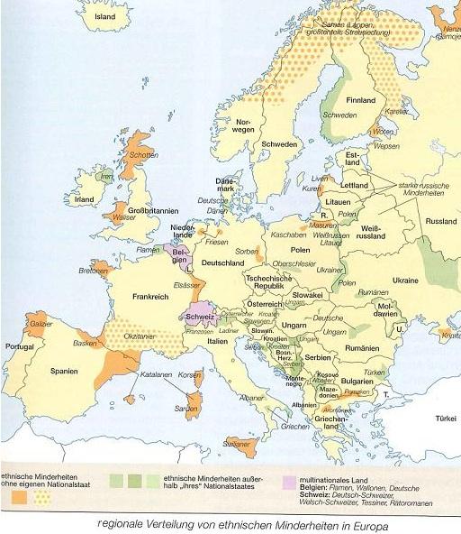 Staaten, Völker und Minderheiten – Anmerkungen zu(r)EUropäischen Minderheiten(politik) post's picture