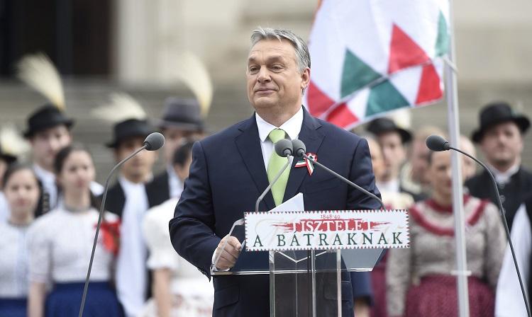 15. März – Offizielle Staatsfeierlichkeiten am Ungarischen Nationalmuseum post's picture