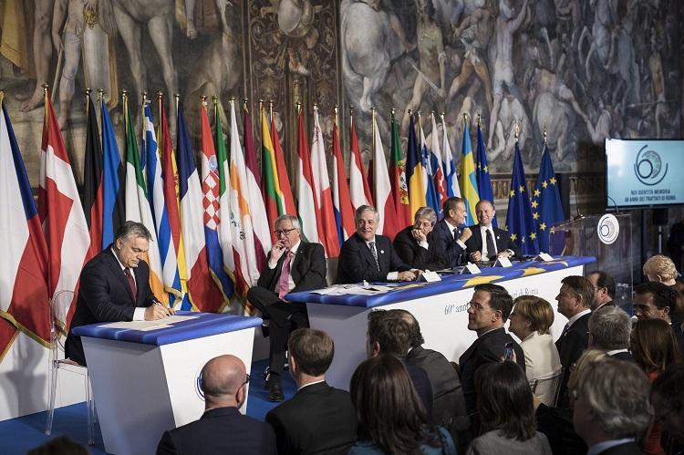 Ungarische Presseschau – 60 Jahre EU, Erklärung von Rom post's picture