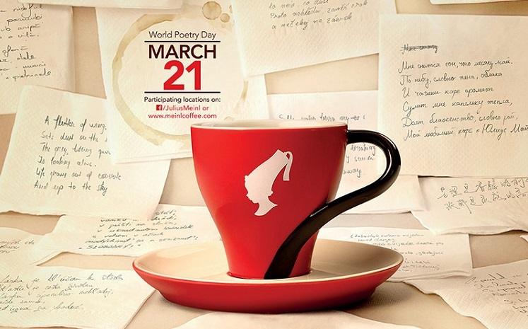 Bezahl deinen Kaffee oder Tee am 21. März mit einem Gedicht