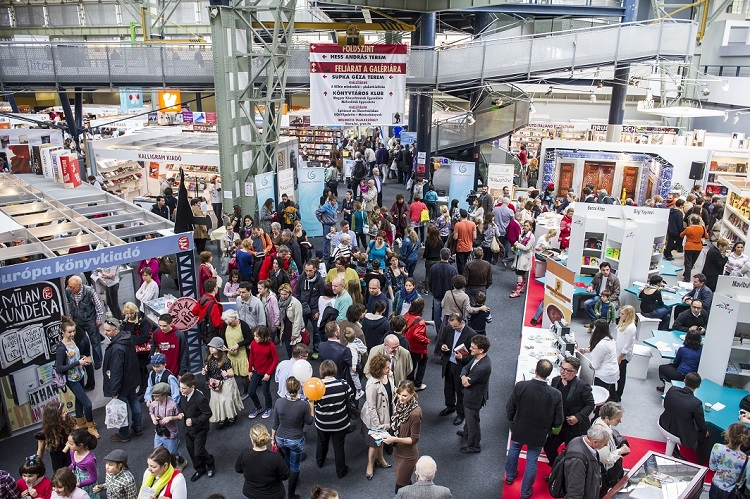 Die Literatur zieht nach Budapest um – 24. Internationales Buchfestival post's picture