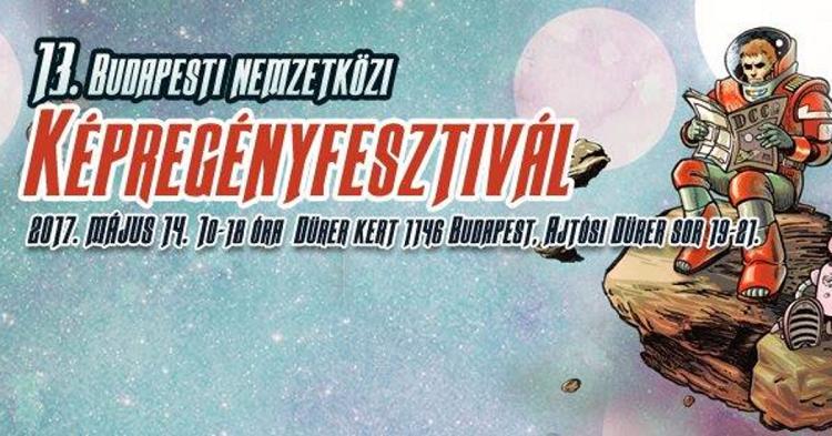 13. Internationales Comicfestival Budapest post's picture
