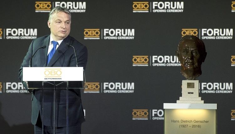 """""""Wir haben viele Freunde in Deutschland, die sich zu uns bekennen"""" – Ministerpräsident Viktor Orbáns Rede bei der Einweihung der neuen Zentrale von OBO Bettermann post's picture"""