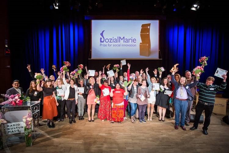 Vier ungarische sozial innovative Projekte mit der SozialMarie ausgezeichnet