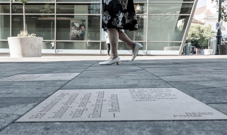 Reformation 500 – Straßen-Installation in Budapest eingeweiht post's picture