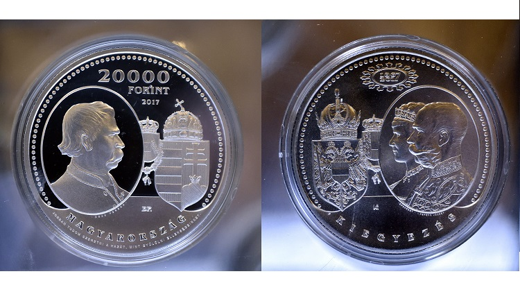 Österreichisch-Ungarischer Ausgleich – Silbermünze zum Jubiläum post's picture