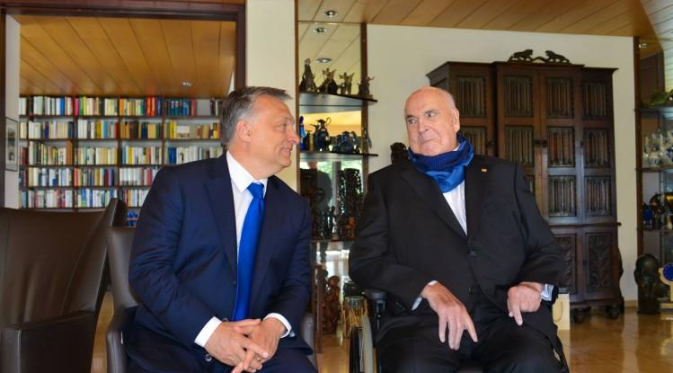 Kohl und Orbán: Die Freundschaft zweier Ausnahmepolitiker post's picture