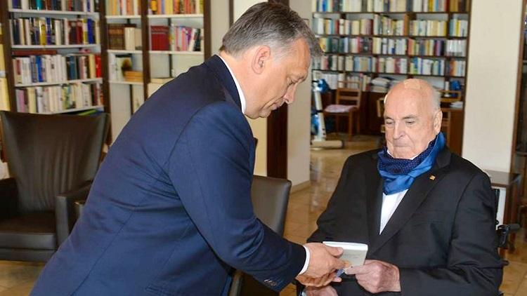 """Orbáns Brief an Kohls Witwe: """"Wir haben den großen Architekten des vereinten Europas verloren"""""""