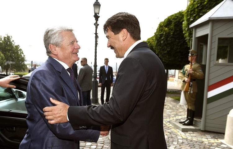 Joachim Gauck auf Ungarn-Besuch