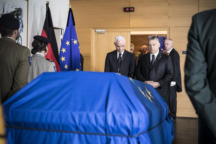 Orbán: Kohl repräsentierte das Europa der Nationen