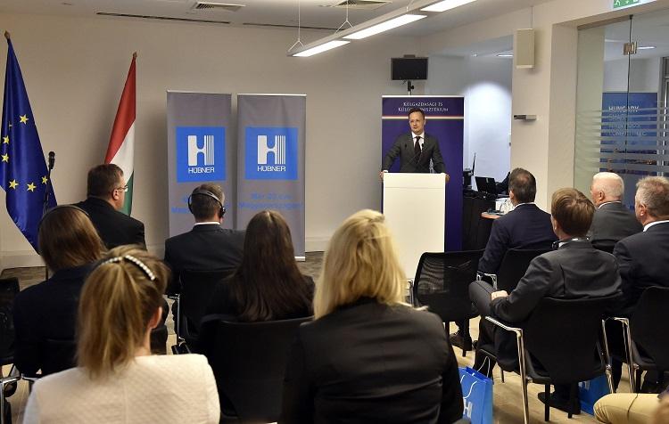 Investition der Hübner-Gruppe in Nyíregyháza