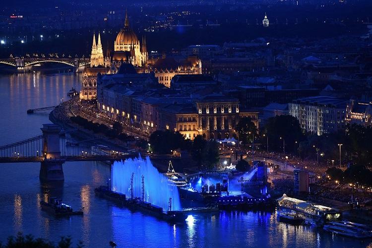 Es hat gestartet: Schwimm-WM in Ungarn post's picture