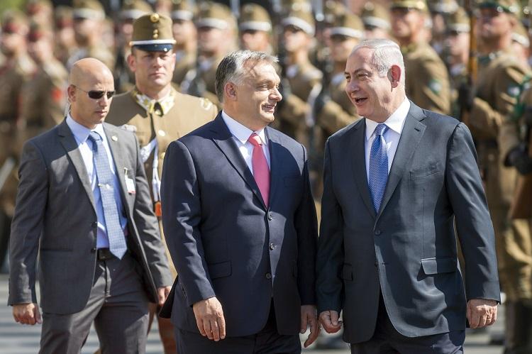 Netanjahu auf Ungarn-Besuch post's picture