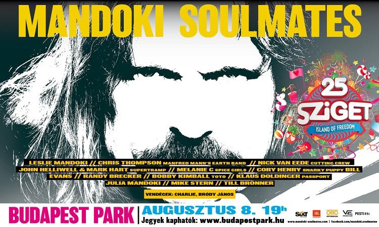 "25 Jahre ""Sziget"" – Man Doki Soulmates Konzert im Budapest Park post's picture"