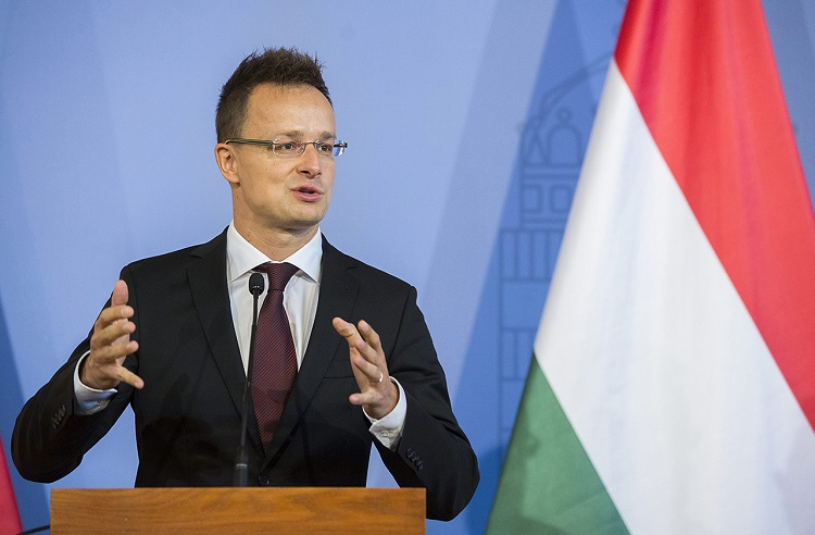 """Außenminister Szijjártó: Neuer ukrainischer Präsident """"eine neue Hoffnung"""" für Ungarn post's picture"""