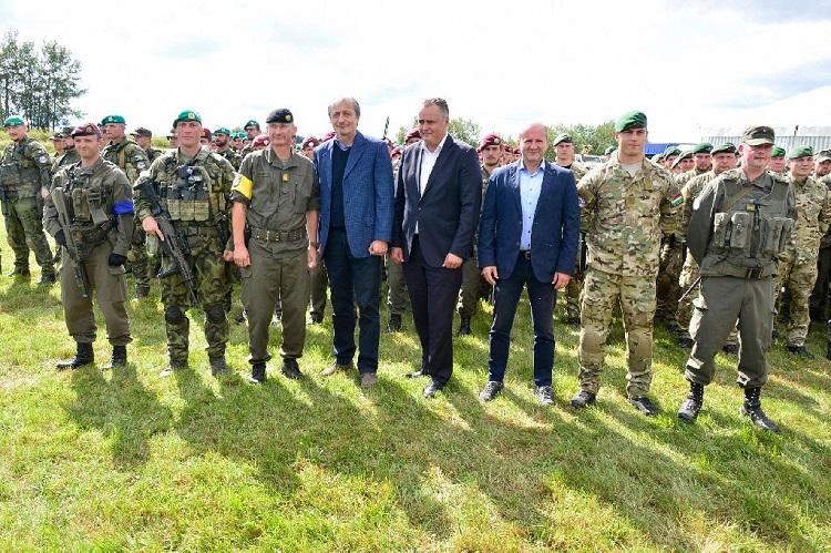"""COOPSEC17"" – Zentraleuropäische Truppenübung an fiktiver EU-Außengrenze post's picture"