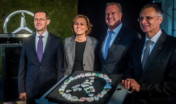Grundsteinlegung für Mercedes-Benz Academy in Kecskemét post's picture