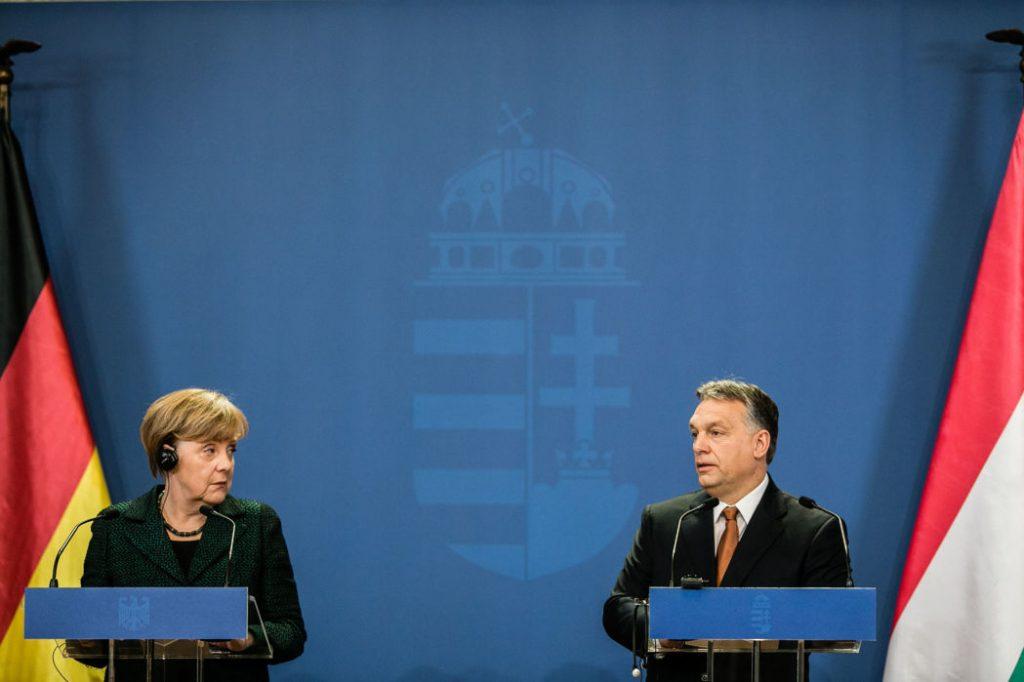 Angela Merkel gratuliert Viktor Orbán schriftlich
