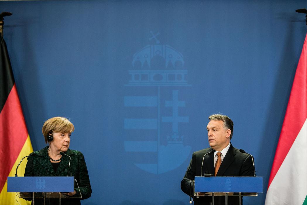 Angela Merkel gratuliert Viktor Orbán schriftlich post's picture