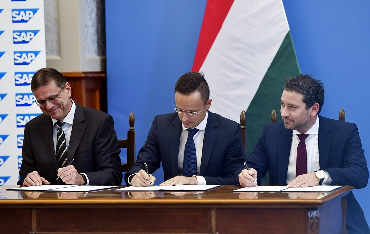 Strategische Partnerschaftsvereinbarung der SAP mit der ungarischen Regierung post's picture