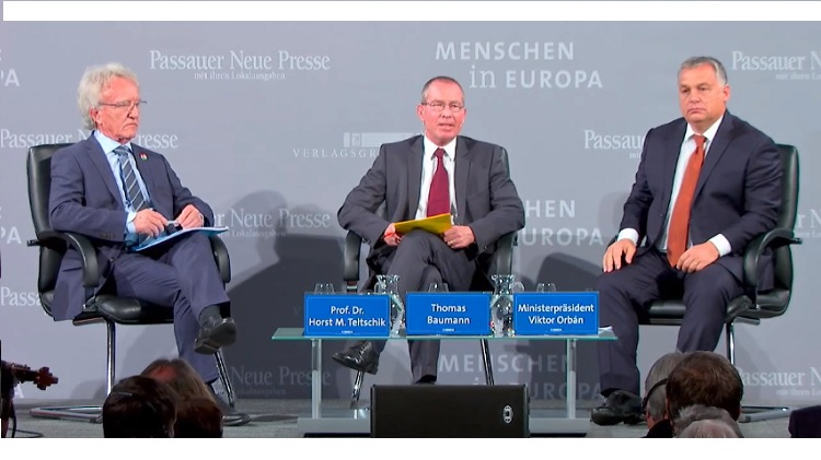 "Orbán bei der Podiumsdiskussion ""Menschen in Europa"" in Passau – Video post's picture"