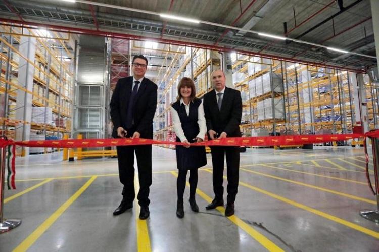 Drittes Logistikzentrum von Penny in Ungarn eröffnet post's picture