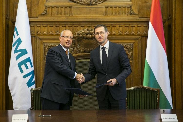 Siemens schließt sich Nationalem Zuliefererprogramm der ungarischen Regierung an post's picture