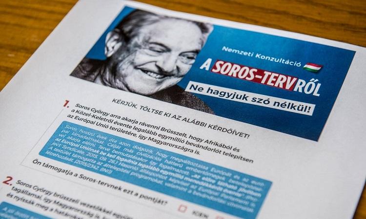 Ungarische Presseschau – Gegenkampagne von George Soros post's picture