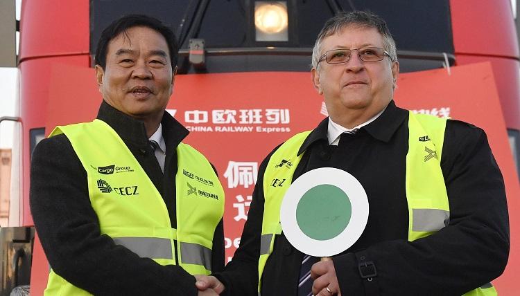ÖBB-Güterverkehr – Erster Direktzug aus Ungarn nach China
