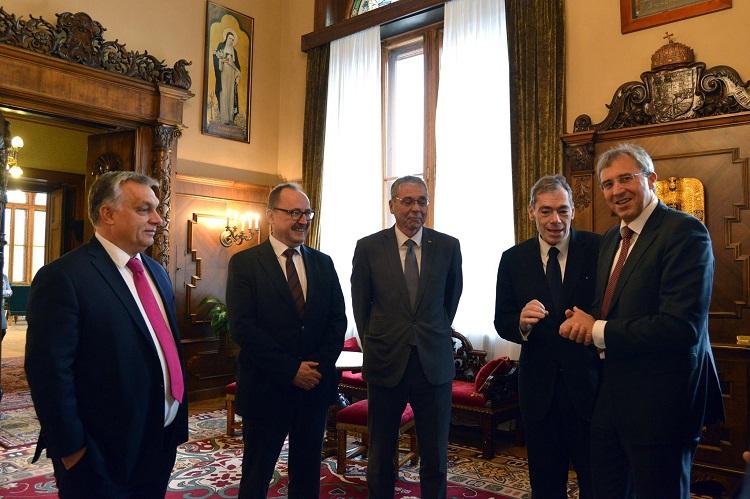 Besuch des Europaausschusses des Bayerischen Landtags in Budapest post's picture