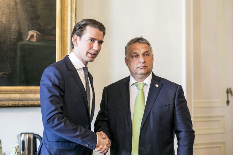 Parallelen: Sebastian Kurz und Viktor Orbán post's picture