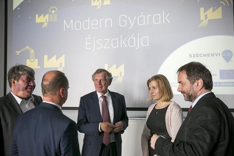 """""""Nacht der modernen Fabriken"""" mit deutschen Unternehmen in Ungarn post's picture"""