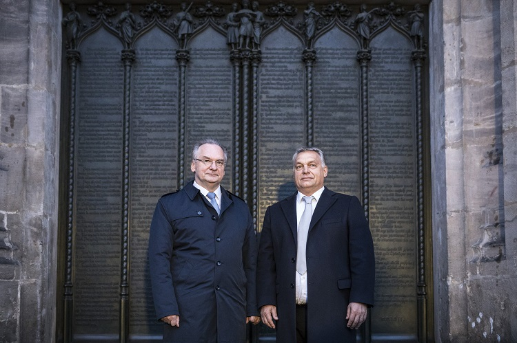 Orbán-Besuch in Wittenberg post's picture