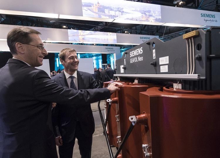 Siemens seit 130 Jahren in Ungarn erfolgreich post's picture