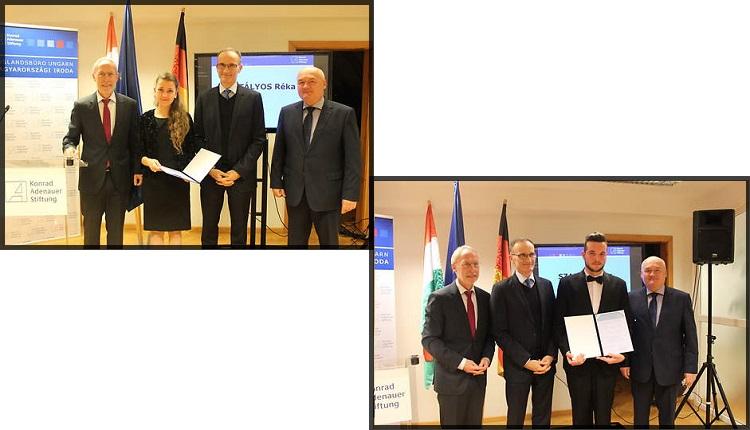 KAS Ungarn begrüßt 20. ungarischen Stipendiaten post's picture