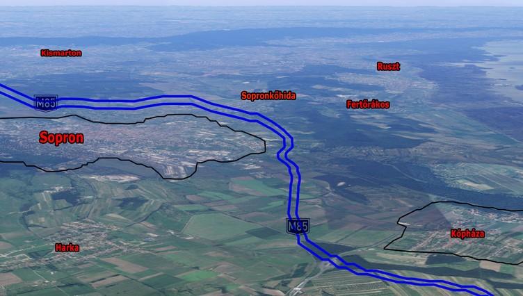 Österreichische Autobahn A3 wird bis nach Sopron verlängert