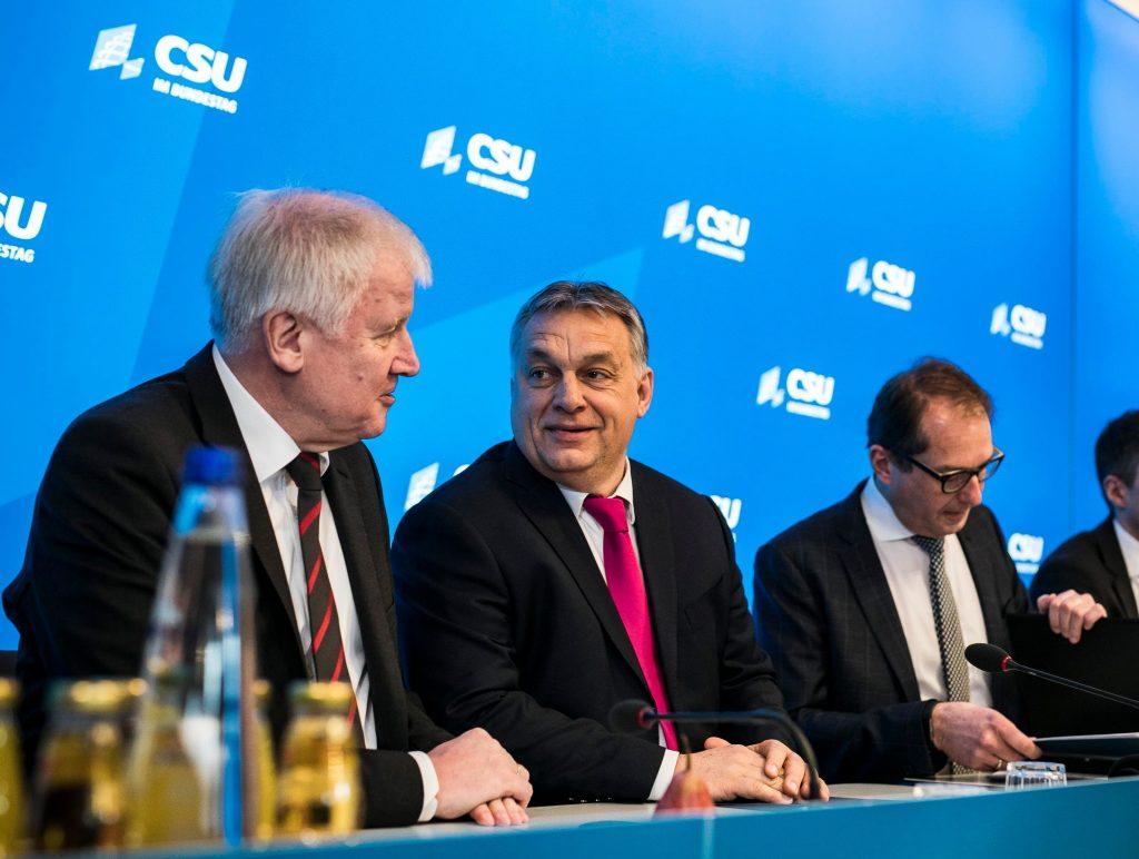 Ungarische Presseschau: Viktor Orbán bei der CSU-Klausurtagung post's picture