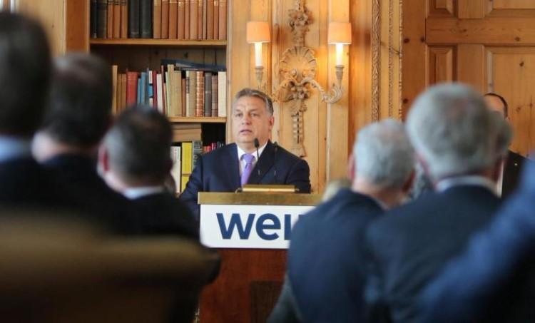 Viktor Orbán als Gastredner beim WELT-Wirtschaftsgipfel in Berlin post's picture