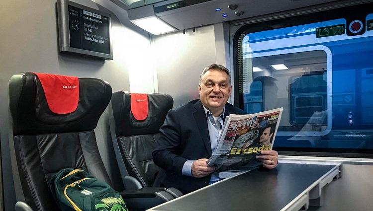 Viktor Orbán auf Wien-Besuch post's picture