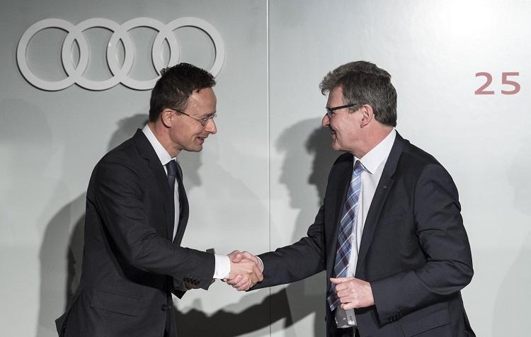 Audi Hungaria: Mit neuem F+E-Zentrum ins Jubiläumsjahr post's picture