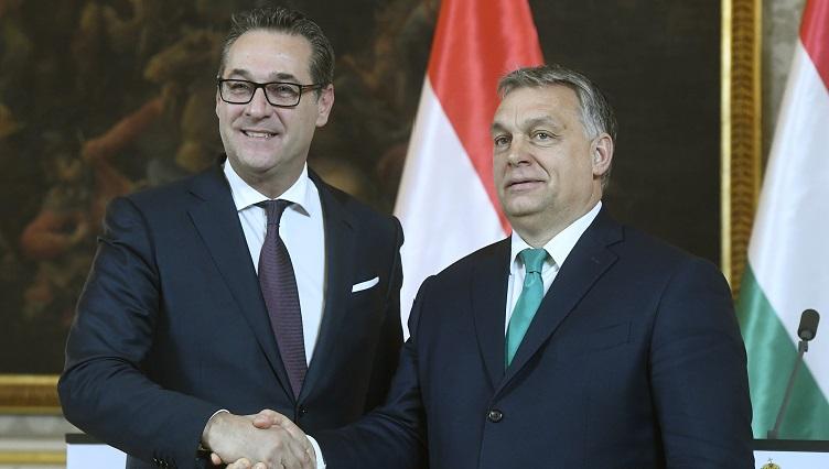 """Strache: """"Ohne Orbán gäbe es keinen EU-Außengrenzschutz"""" post's picture"""