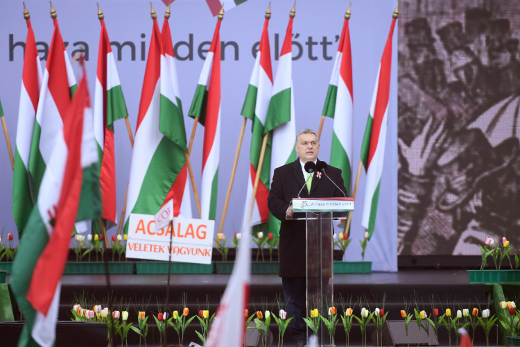 Ungarische Presseschau: 15. März – Beginn der heißen Wahlkampfphase post's picture