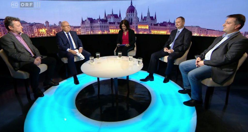 ORF-Sendung in Budapest: über die aktuelle politische Lage vor der Parlamentswahl in Ungarn post's picture