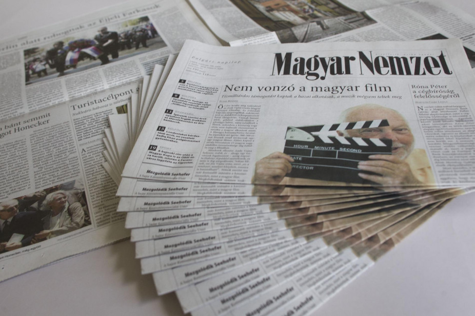 Nach 80 Jahren ist Schluss: führende Oppositionszeitschrift Magyar Nemzet erscheint am 11. April zum letzten Mal post's picture