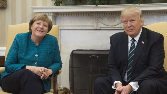 """Amerikanische Presseschau: """"Eine verzweifelte Merkel wird von Trump überrollt"""" post's picture"""