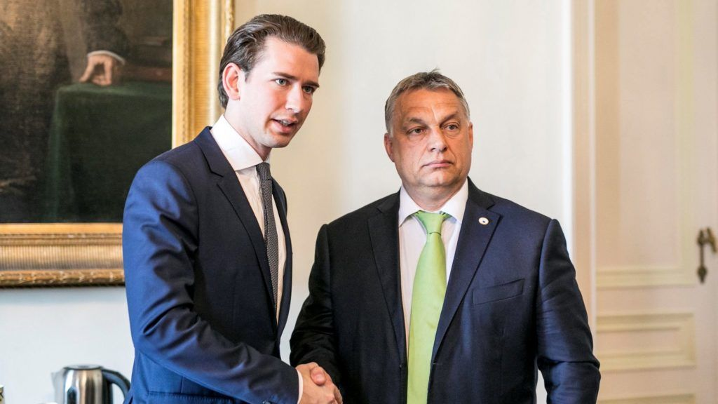 Kanzler Kurz in Budapest post's picture