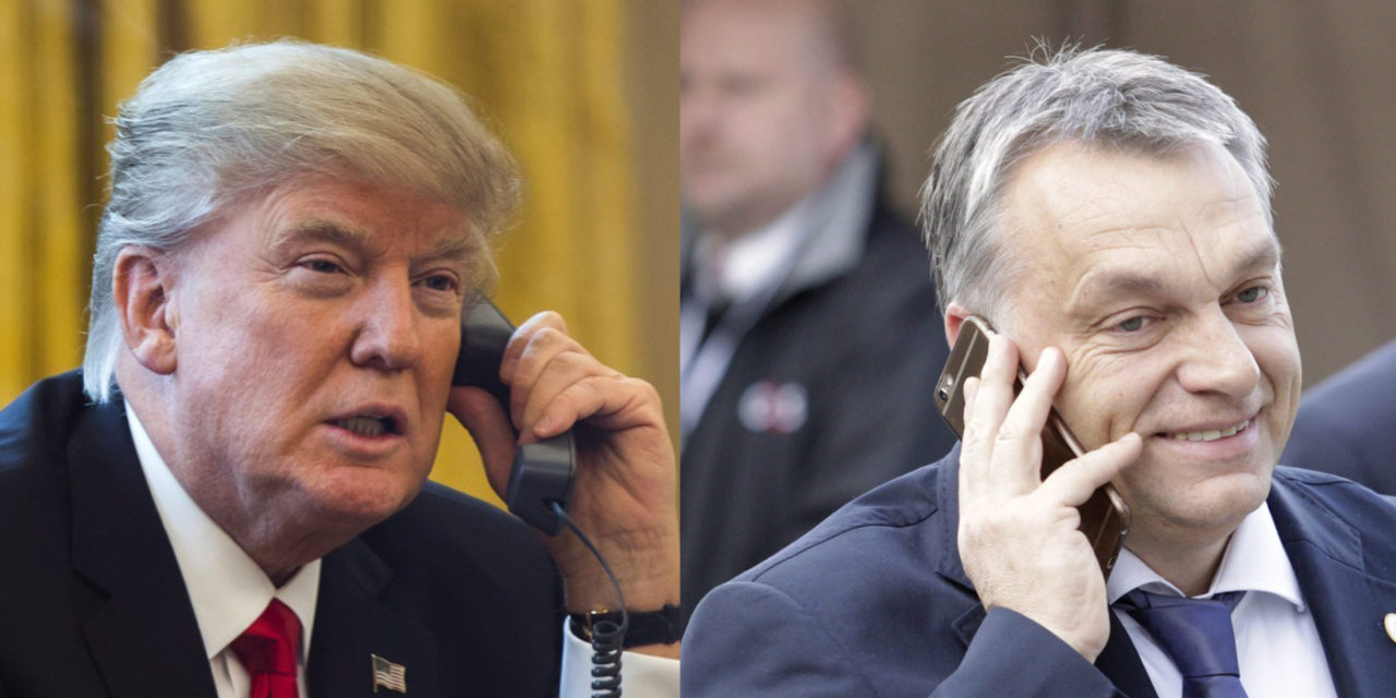 Orbán-Trump Telefongespräch post's picture