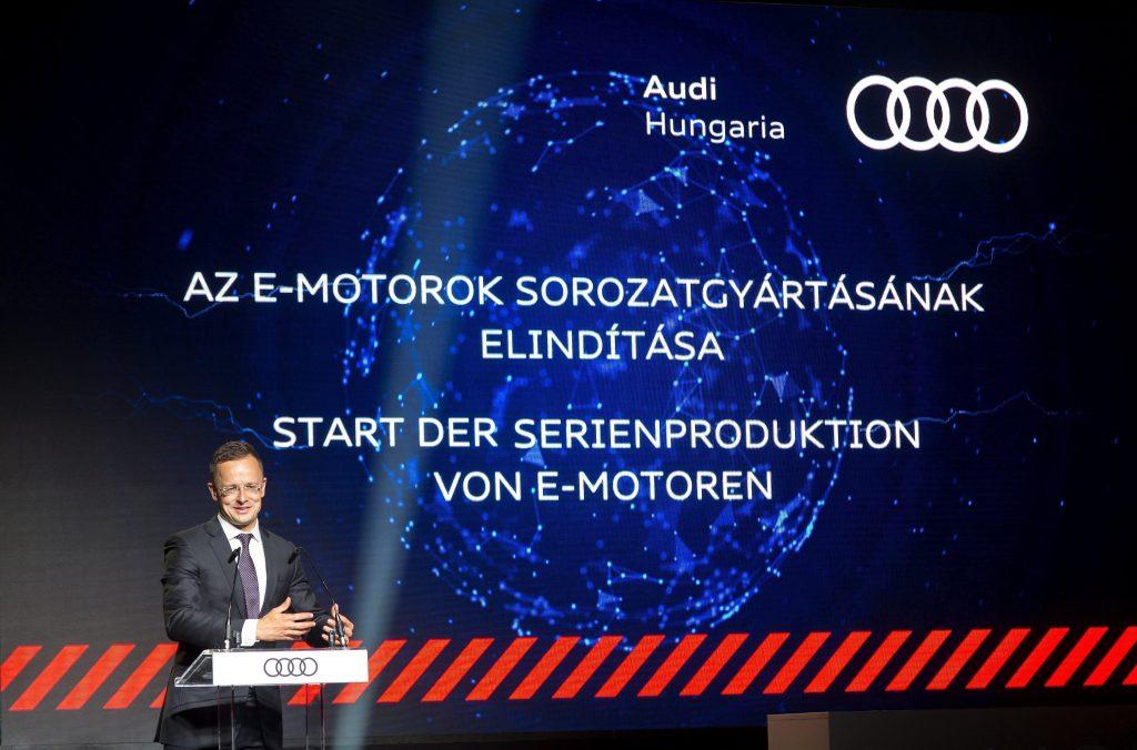 Audi: Produktion von Elektromotoren startet in Ungarn post's picture