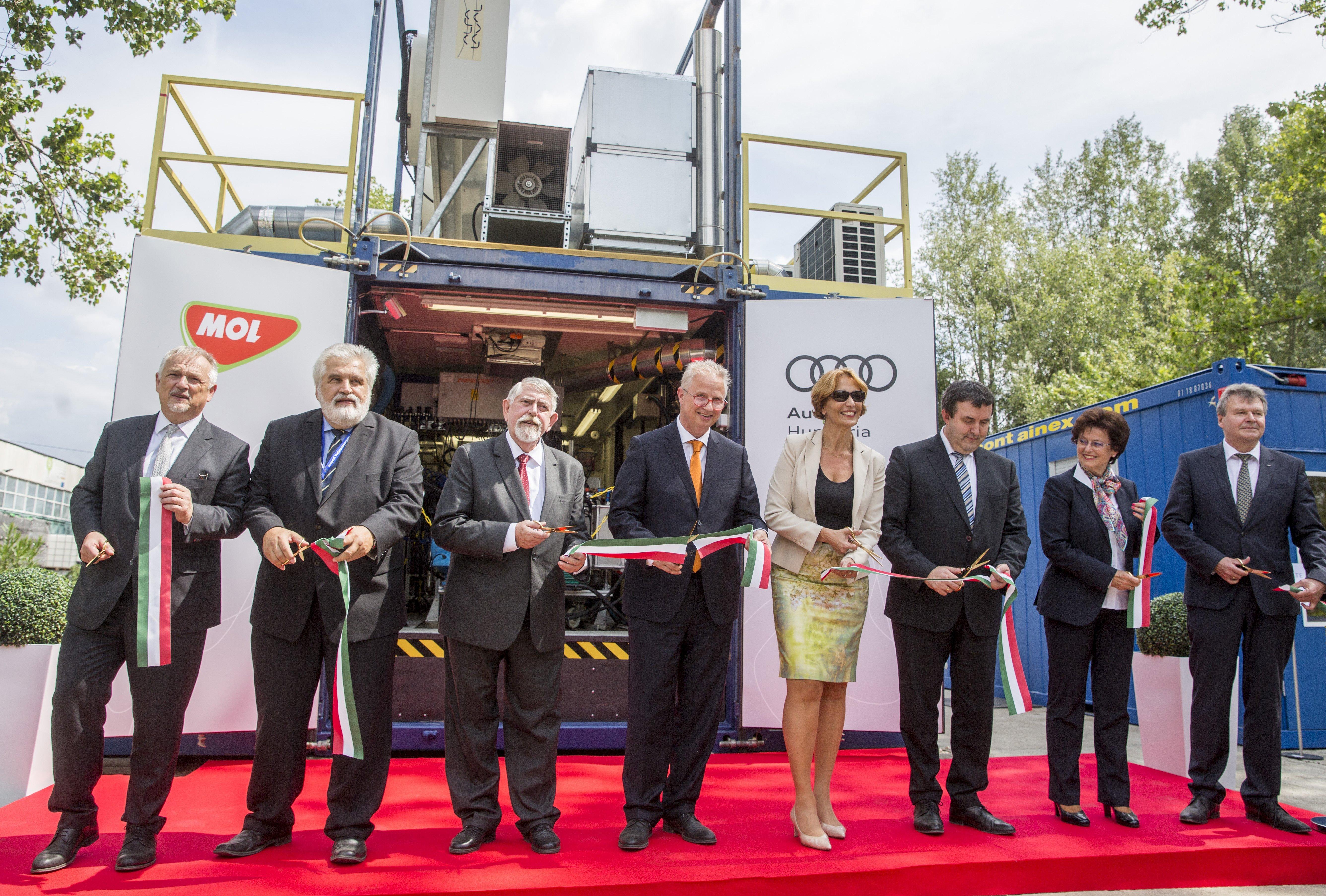 Grundstein gelegt: Audi, MOL und Universität Szeged entwickeln zusammen post's picture